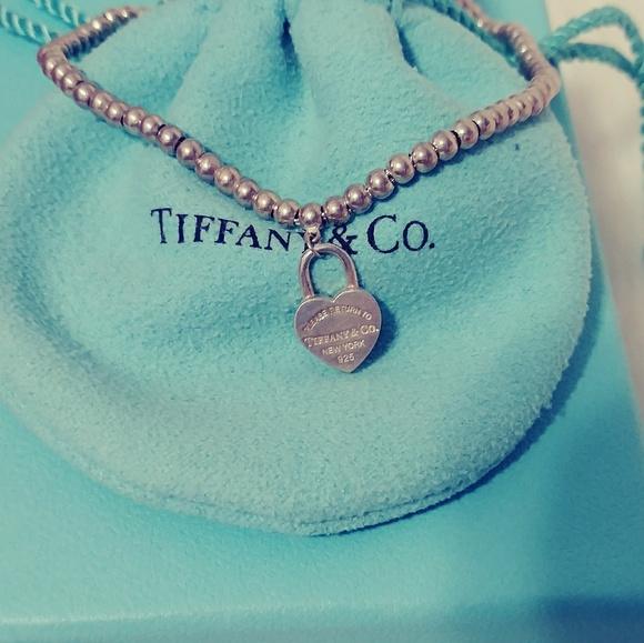 28361dd65 Tiffany & Co. Jewelry | Return To Tiffany Mini Heart Lock Bracelet ...